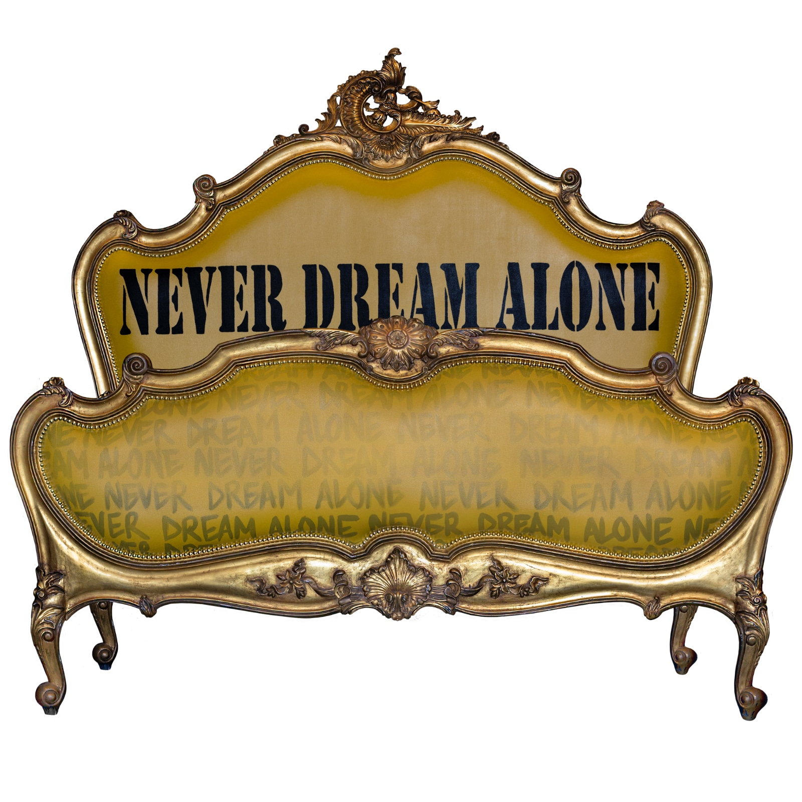 NEVER DREAM ALONE