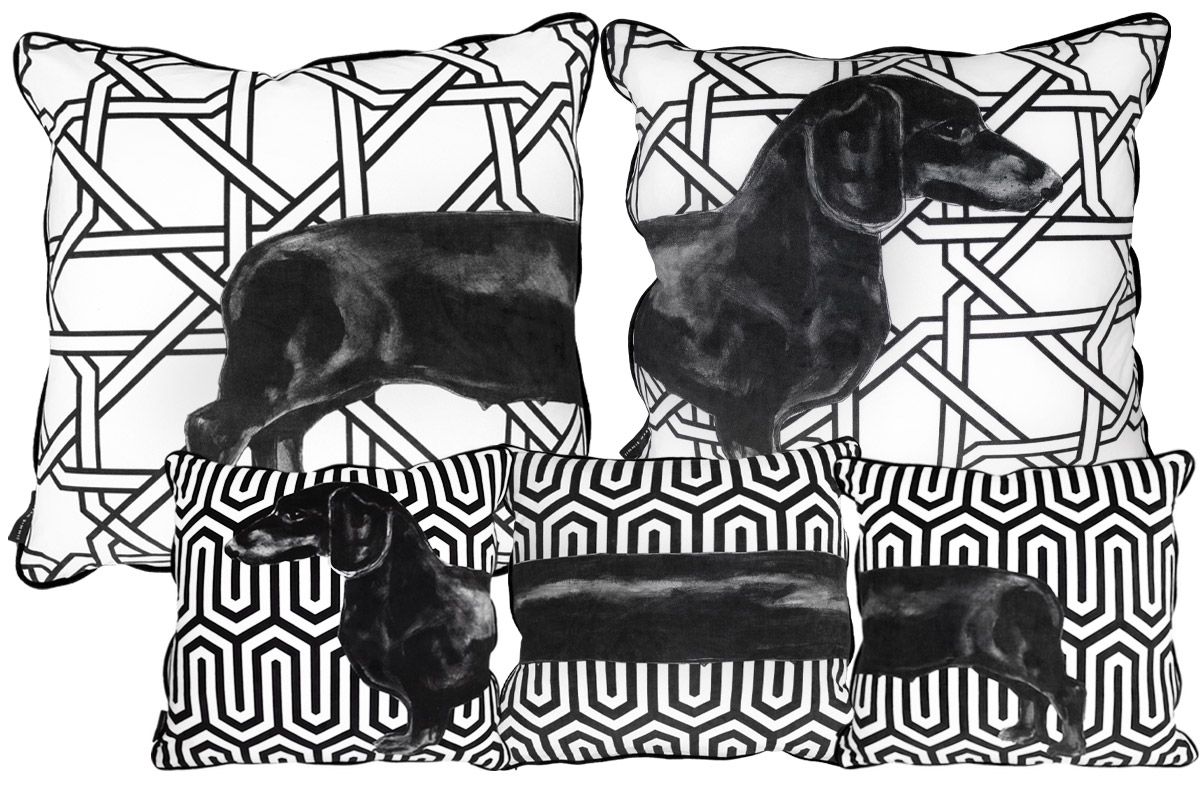 PATTERN SAUSAGE DOG