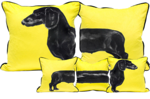 SAUSAGE DOG / YELLOW
