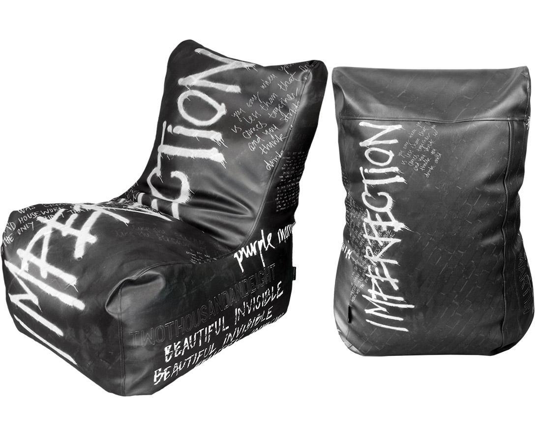 IMPERFECTION BEAN BAG / BLACK