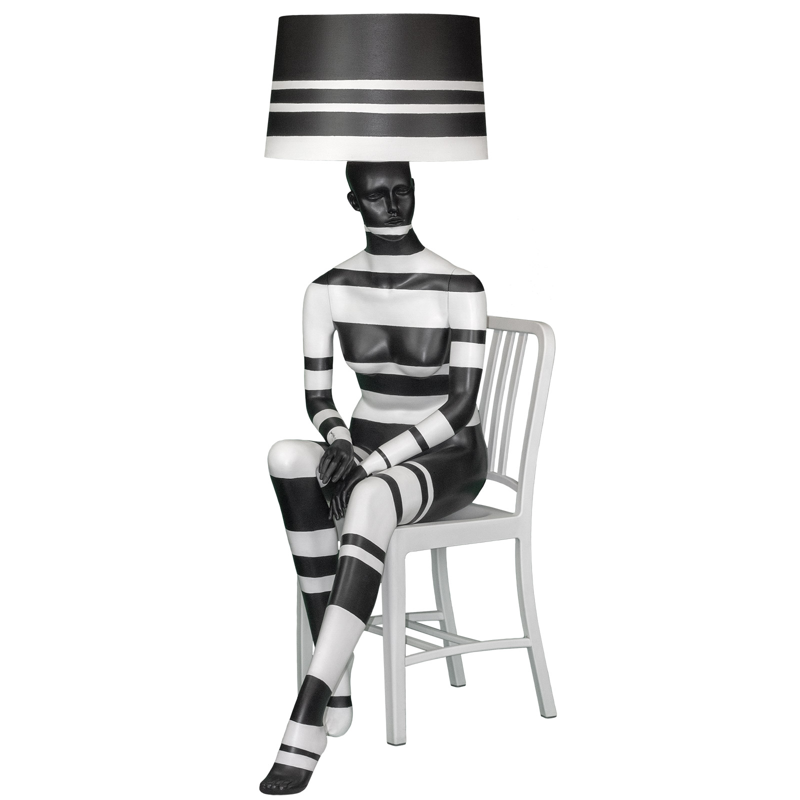 STRIPY SEATED