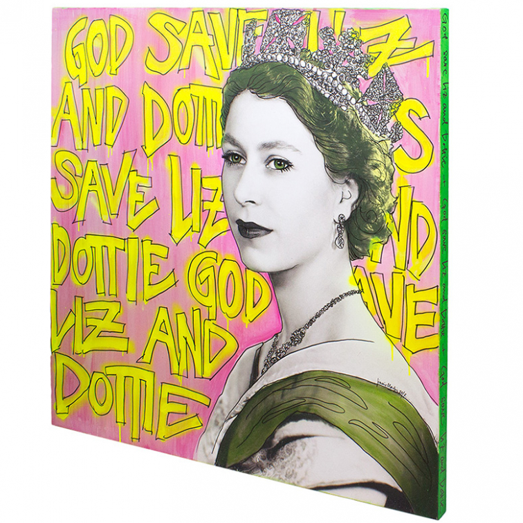 GOD SAVE THE QUEEN ARTWORK / 2ND