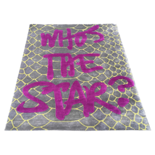 WHO'S THE STAR RUG SILVER