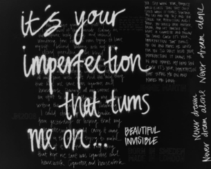 YOUR IMPERFECTION / BLACK