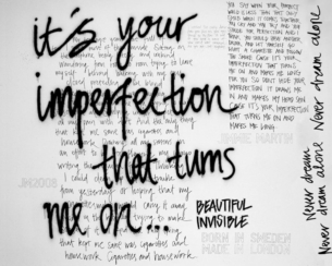 YOUR IMPERFECTION / WHITE